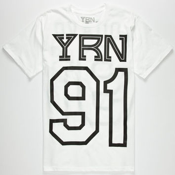 Yrn Quavo Mens T-Shirt White  In Sizes