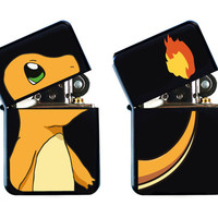 BOTH SIDES Pokemon Charmander Flaming Cool Lighter