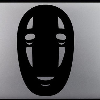 Studio Ghibli Spirited Away No Face Mask Decal
