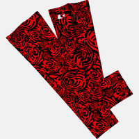 Roses Red arm sleeve