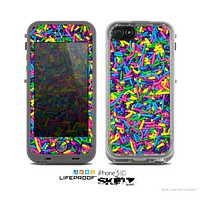 The Neon Sprinkles Skin for the Apple iPhone 5c LifeProof Case
