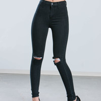 Washed Out Distressed Jeans GoJane.com
