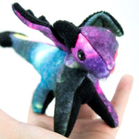 Limited Edition Galaxy Printed Dragon Stuffed Animal Plush Toy