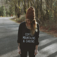 Cabin Sweatshirt – Wish You Were Northwest