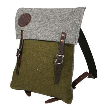 Duluth Pack Foot Soldier Wool Scout Pack