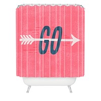 Nick Nelson Go Shower Curtain