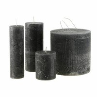 Rustic Black Candle - 7x9cm from Day Birger Et Mikkelsen