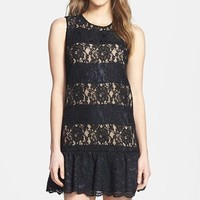MM Couture Lace Drop Waist Dress