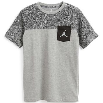 Boy's Nike 'Jordan Pocket Vee' T-Shirt,