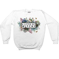 A Little Bit Witchy -- Unisex Sweatshirt