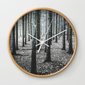 Coma forest Wall Clock by happymelvin