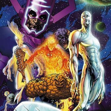 Fantastic Four #545 - Limited Edition Giclee on Canvas by Michael Turner (1971-2008) and Marvel Comics