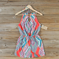The Santorini Romper