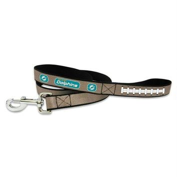 PEAPYW9 Miami Dolphins Reflective Football Pet Leash