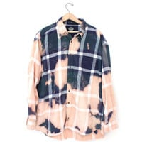 Bleached Flannel Shirt - Dockers Levis