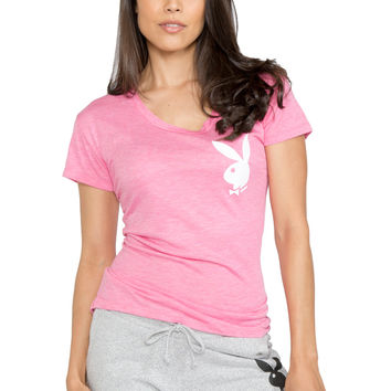 Relaxed Fit Burnout Tee