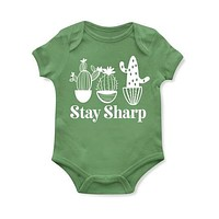 STAY SHARP BABY Onesuit