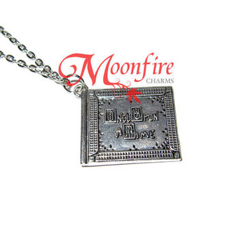 ONCE UPON A TIME Henry's Book Pendant Necklace