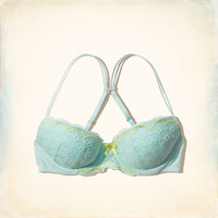 Lace Perfect Push 'Em Up Balconet Bra