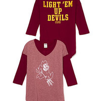 Arizona State University Football Tee - PINK - Victoria's Secret