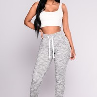 Keep It Simple Jogger - Grey