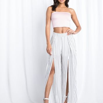 Newport Slit Front Pants