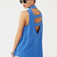 Caged Back Shirt  in  Clothes at Nasty Gal