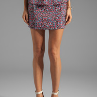 Lovers + Friends Wishing Peplum Skirt in Madame Butterfly from REVOLVEclothing.com