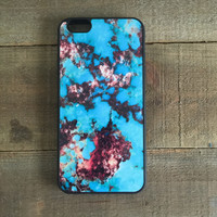 """""""Open Box Item"""" Turquoise Stone Case Cover for Apple iPhone 6 Plus and 6s Plus"""