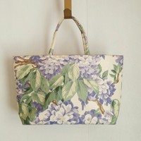 Vintage Wisteria Margaret Smith Bag floral tote