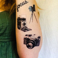 4 Photography Temporary Tattoos- SmashTat