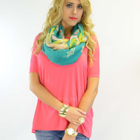 Boyfriend Piko Short Sleeve French Rose