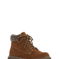 Cold Combat Knit Sweater Cuff Boots
