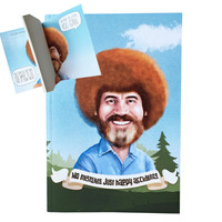 Bob Ross Notebook