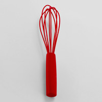 Red Silicone Whisk - World Market