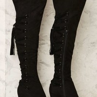 Nasty Gal Shiloh Lace-Up Boot