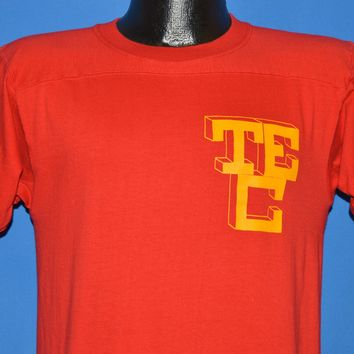 70s TEC University Ringer Jersey t-shirt Small