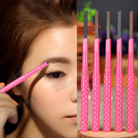 Waterproof Women Girl Eyebrow Pencil Pen Eye Brow Liner Powder Shaper Makeup Tool