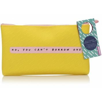 No, You Can't Borrow One Silicone Pencil Case