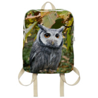 Owl and Leaves Backpack created by ErikaKaisersot   Print All Over Me