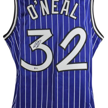 Shaquille O'Neal Signed Autographed Orlando Magic Basketball Jersey (Beckett COA)