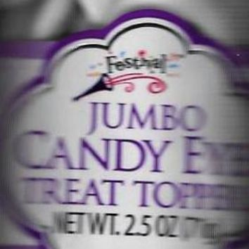 Jumbo Candy Eyes Treat Topper Decoration