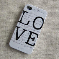 iPhone 4s Case/iPhone 44s Cover/Hard Plastic by happyyourlive
