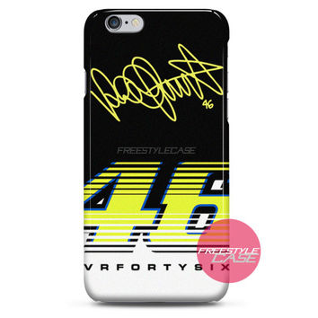 Valentino Rossi VR46 Forty Six MotoGP Team iPhone Case 3, 4, 5, 6 Cover