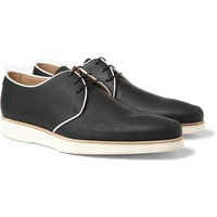 Mr. Hare - King Tubby Rubberised-Leather Derby Shoes | MR PORTER