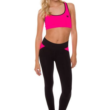 I Werk Out Pants - Neon Pink