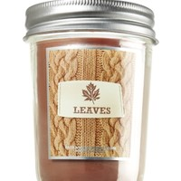 Leaves 6 oz. Mason Jar Candle   - Slatkin & Co. - Bath & Body Works