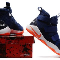 Nike LeBron Soldier 11 Navy/Orange