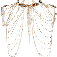 Erickson Beamon - Hung Up gold-plated Swarovski crystal body chain