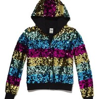Limited Edition Bling Zip Hoodie